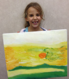 oil painting fro kids